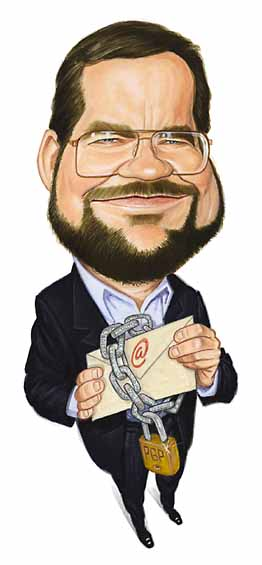 Cartoon of Phil from Computer Power User Magazine